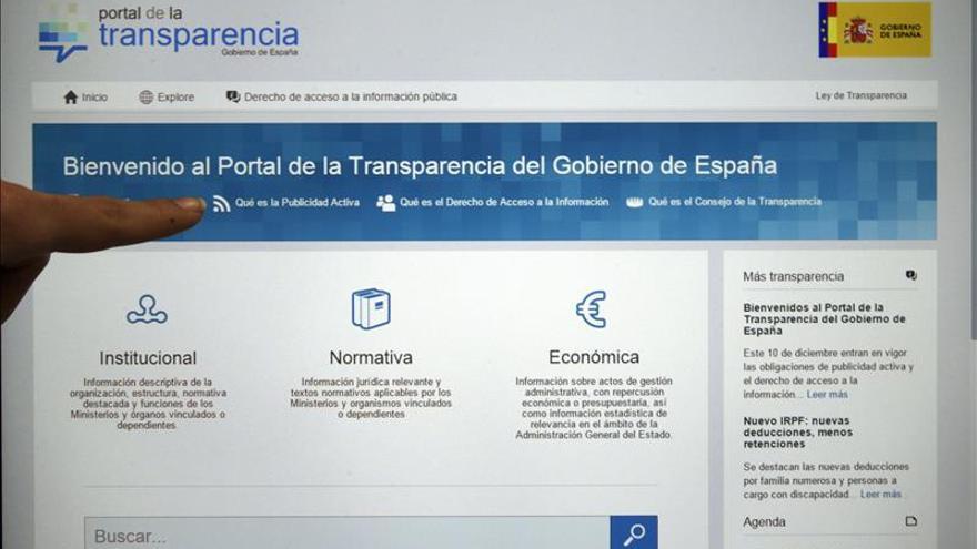Portal de Transparencia del Gobierno