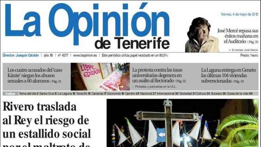 De las portadas del día (04/05/2012) #5