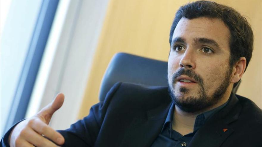 Garzón es ratificado hoy candidato de IU a la Presidencia del Gobierno