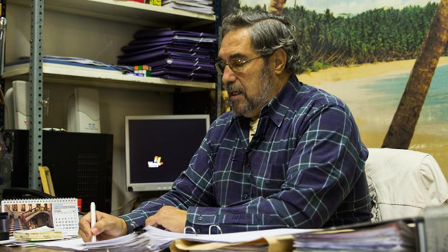 Antonio Díaz de Freijo, durante su entrevista con M*./ Foto: Álvaro Alonso