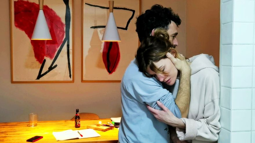 Rodrigo Sorogoyen y Marta Nieto, en 'En casa'