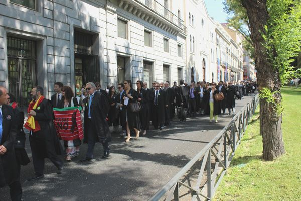 Manifestación en Defensa de la Justicia Gratuita | Fotografía: Somos Chueca