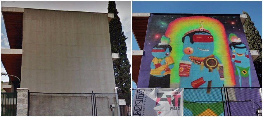 El arte urbano toma los muros del Asunción Rincón y de la Changó