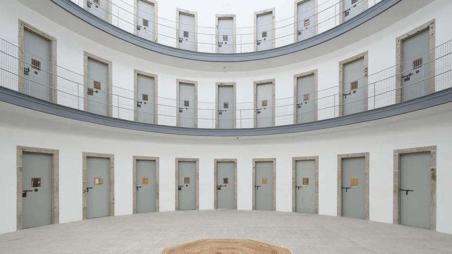 Vista Del Interior De La Cárcel Franquista De Lugo Tras La Remodelación.
