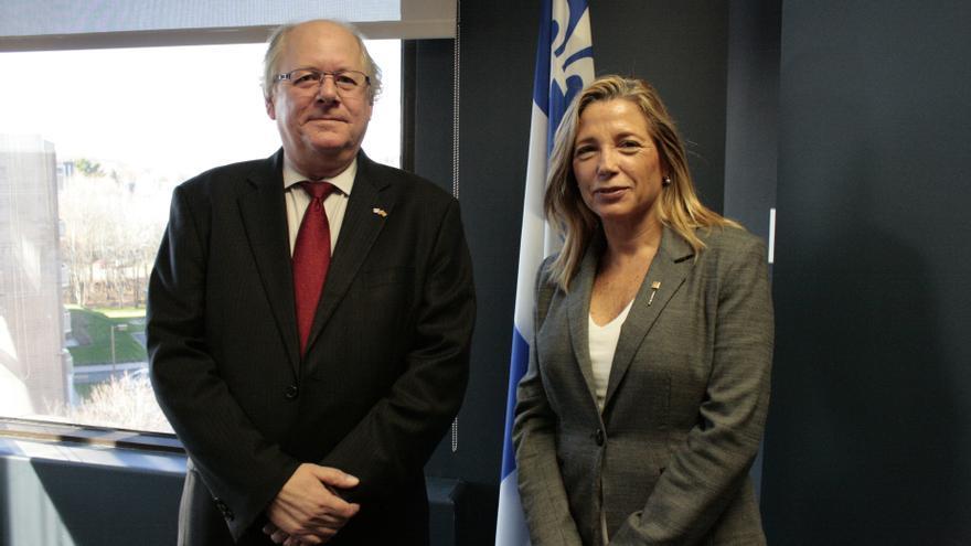 """Ortega sigue las municipales de Quebec para recoger """"experiencias"""" de cara a la consulta"""