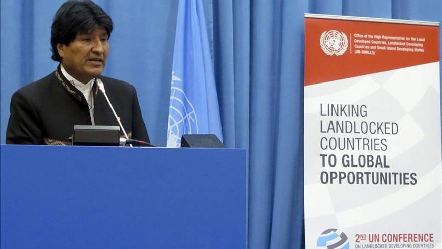 Morales agradece a Mujica su respaldo a reclamación marítima boliviana