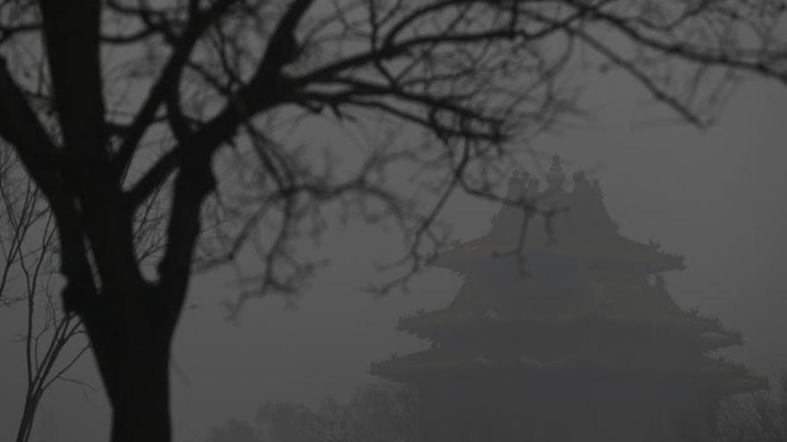 Pekín anuncia alerta naranja por contaminación