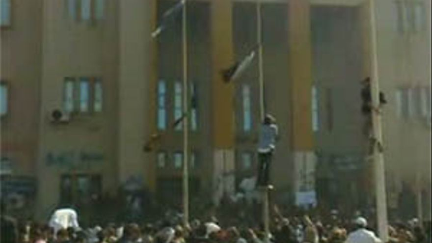Protestas en Libia.