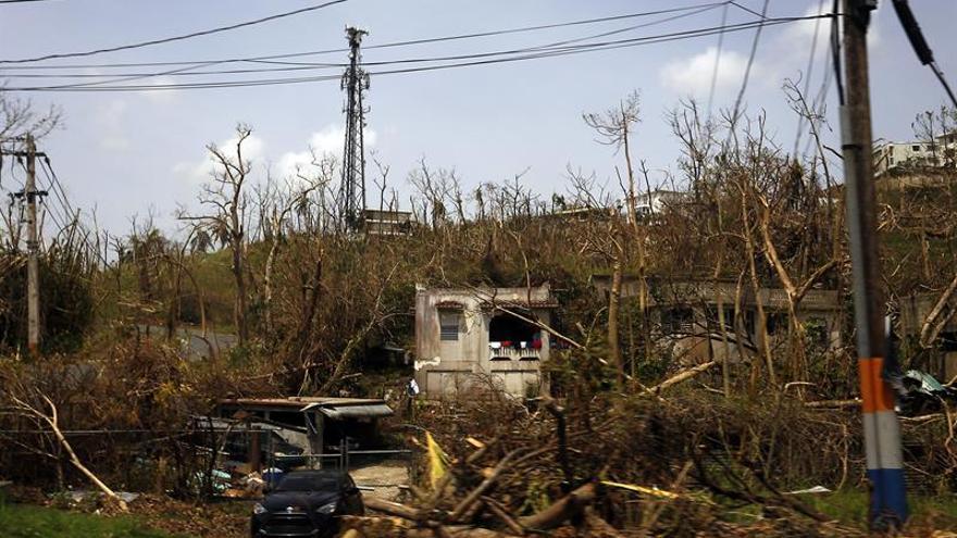 El huracán María al nivel de los peores desastres de la historia de EE.UU.