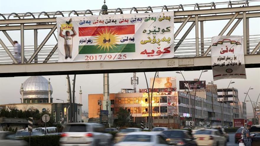 Arranca la campaña para el polémico referéndum del Kurdistán iraquí