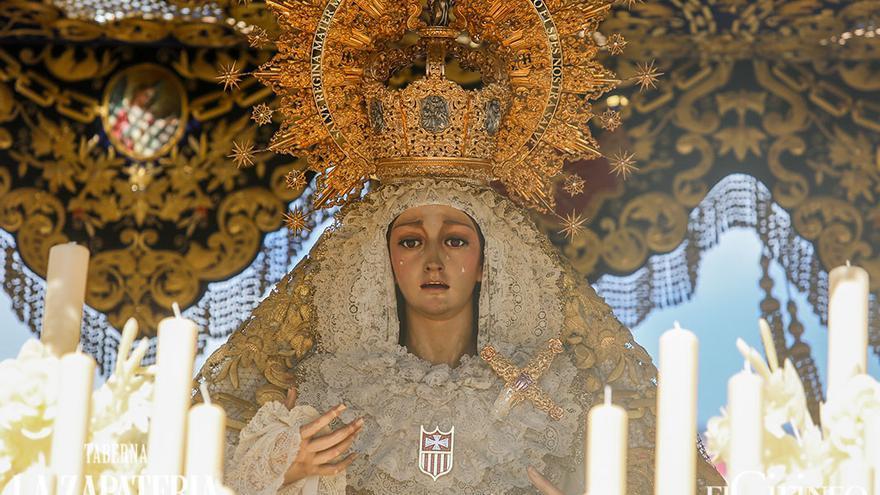 Nuestra Señora de la Merced, el pasado Lunes Santo | ÁLEX GALLEGOS
