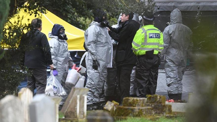 La hija del exespía Skripal ha sido dada de alta en Salisbury