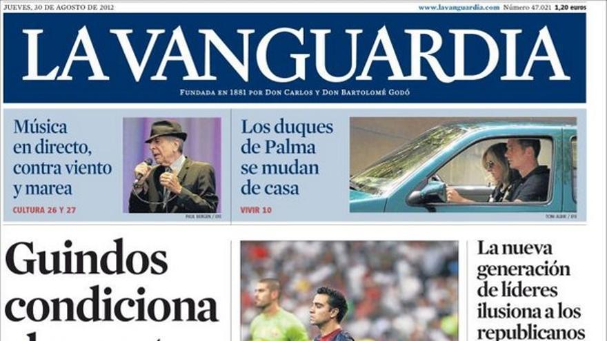 De las portadas del día (30/08/2012) #11