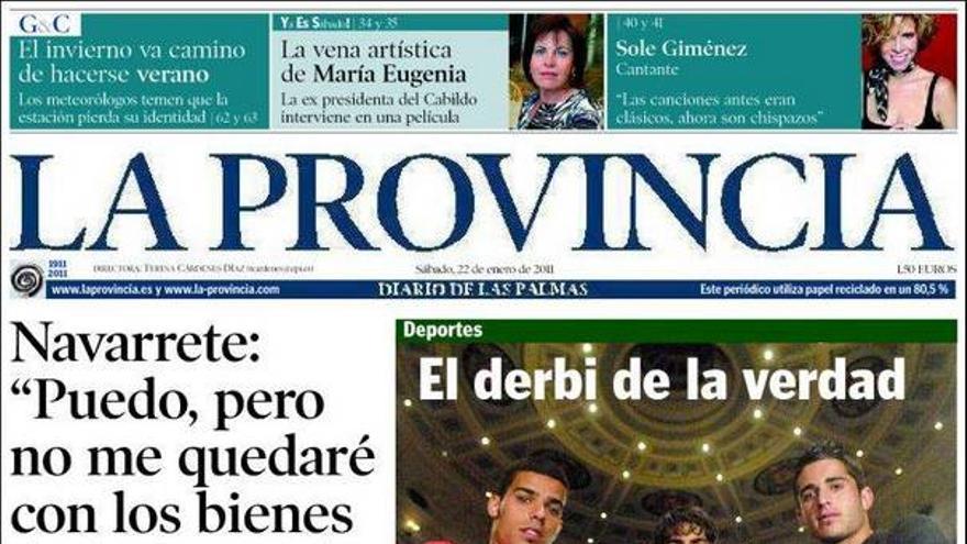 De las portadas del día (22/01/2011) #4