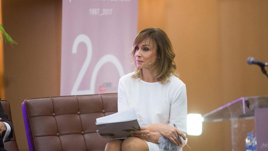 Clara Castelló fue presentadora en RTVV, en la época del PP.