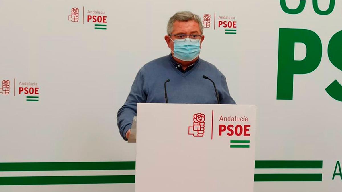 Jesús María Ruiz, en la sede de su partido en Cordoba, en una imagen de archivo.