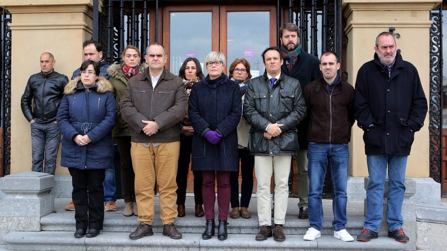 Todos los partidos de Getxo, salvo EH Bildu, se suman al acto de condena por los atentados de Turquía, Jordania y Yemen