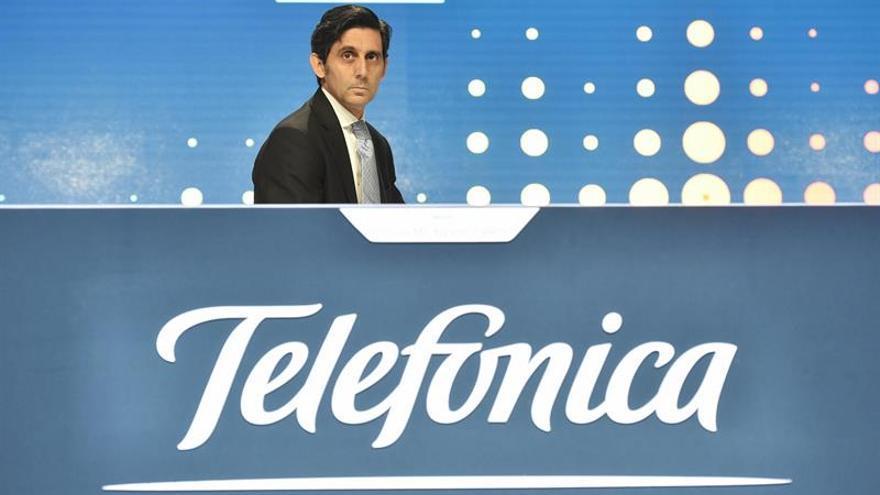 Telefónica gana 1.241 millones de euros hasta junio, un 42,1 % menos