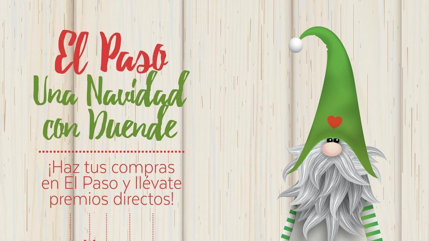Cartel de la campaña 'El Paso, una Navidad con duende'.