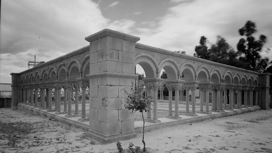 El claustro del Mas del Vent en Ciudad Lineal