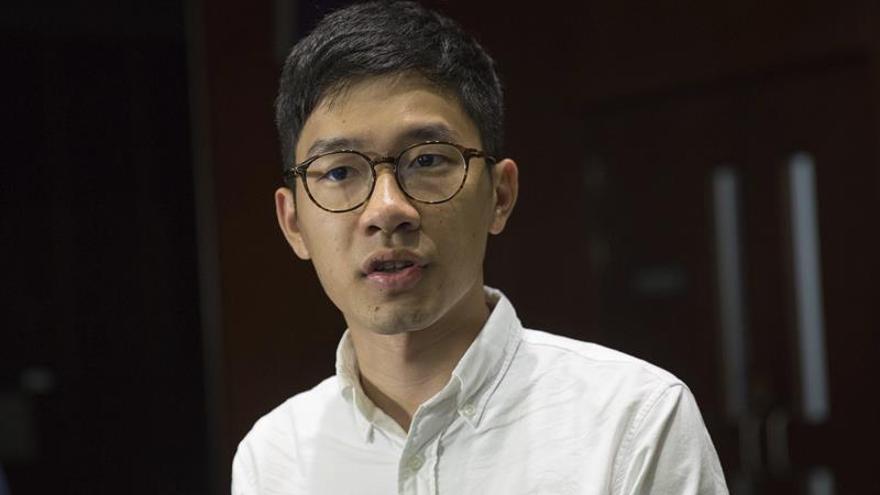 Grupos prochinos protestan por la llegada a Taiwán de activistas de Hong Kong