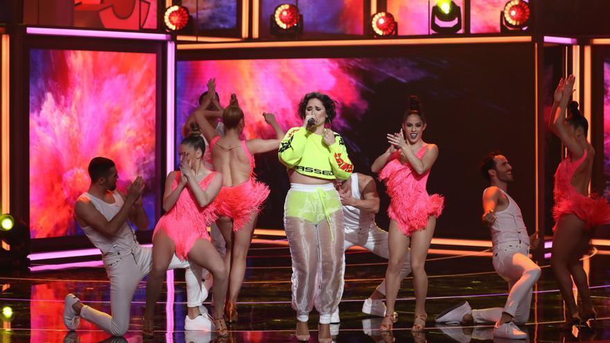 Rosa López, en la gala 3 de 'La mejor canción jamás cantada'