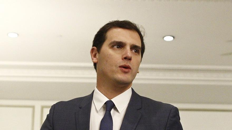 Albert Rivera participará por primera vez en los actos en el Congreso por el aniversario de la Constitución