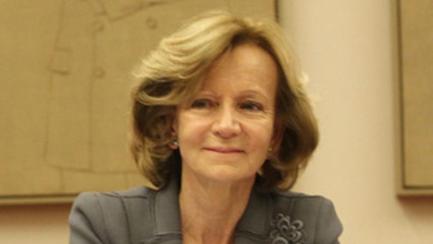 Elena Salgado en el Senado