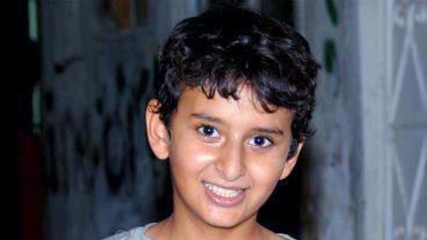 Ebrahim Ahmed Radi al-Moqdad (15 años) detenido el 23 de julio de 2012. Copy: Particular