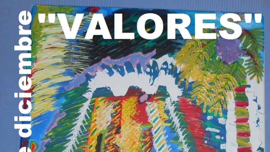 Cartel de la exposición 'Valores'.