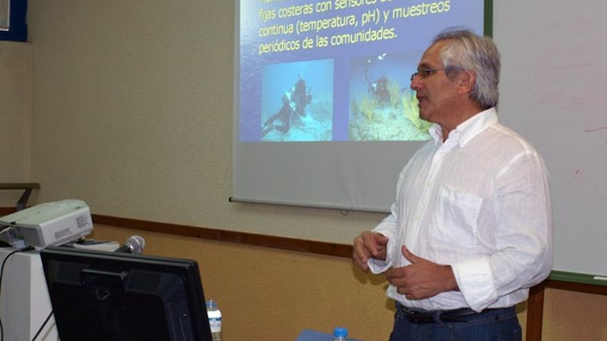 El biólogo Alberto Brito, conferenciante de este lunes en La Laguna