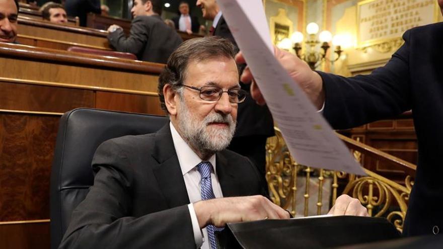 Rajoy destaca el descenso de la brecha salarial