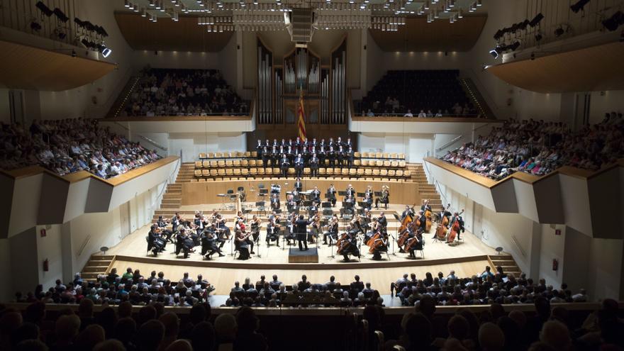 La Orquesta de Valencia bajo la dirección de Eva Ripoll