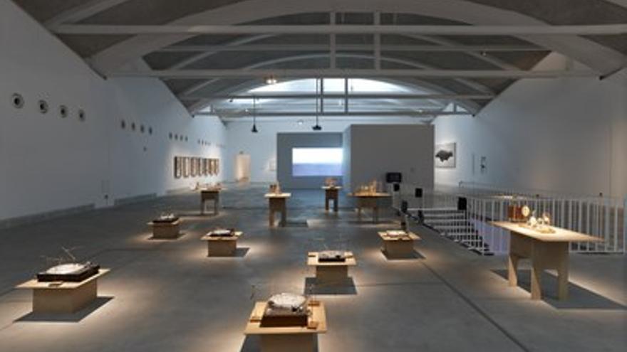 Una de las salas de lABoral, en Gijón. / www.laboralcentrodearte.org