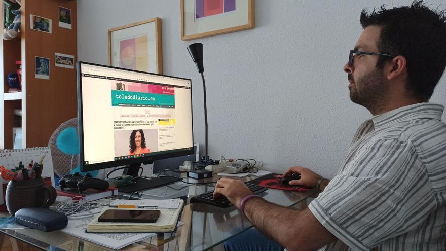 Fidel Manjavacas, periodista de Relato en Red