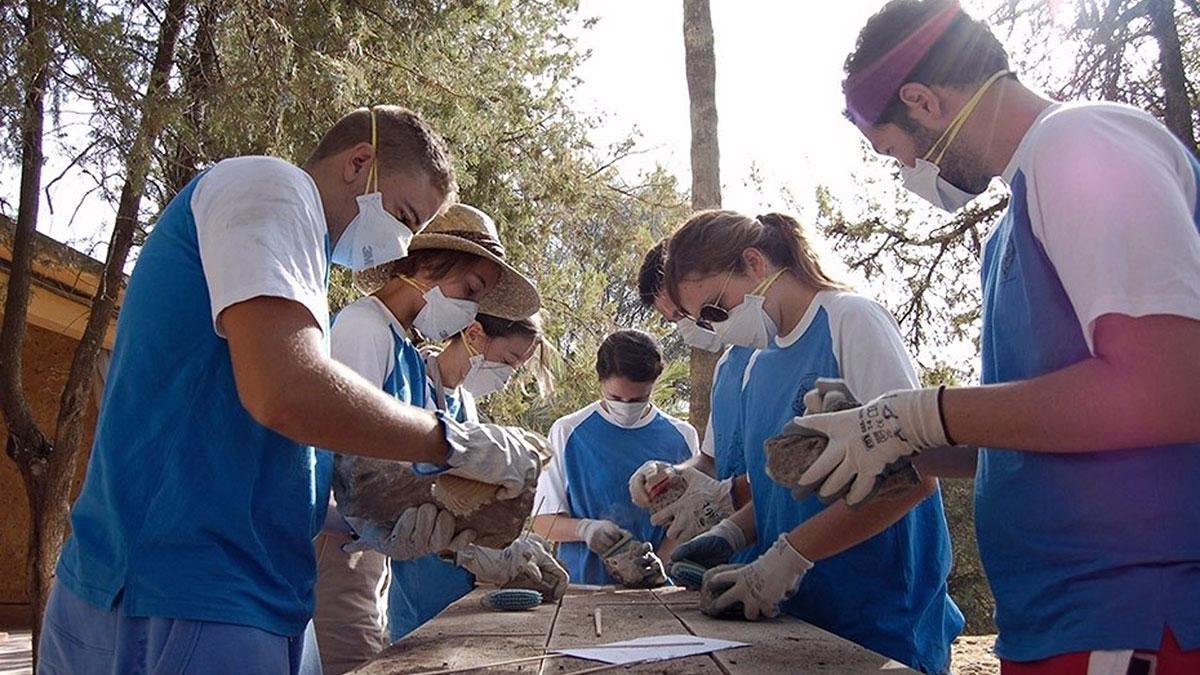 Campo de Voluntariado Juvenil.