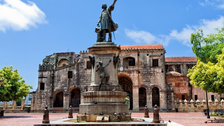 Parque de Colón en Santo Domingo. Foto: Iberia