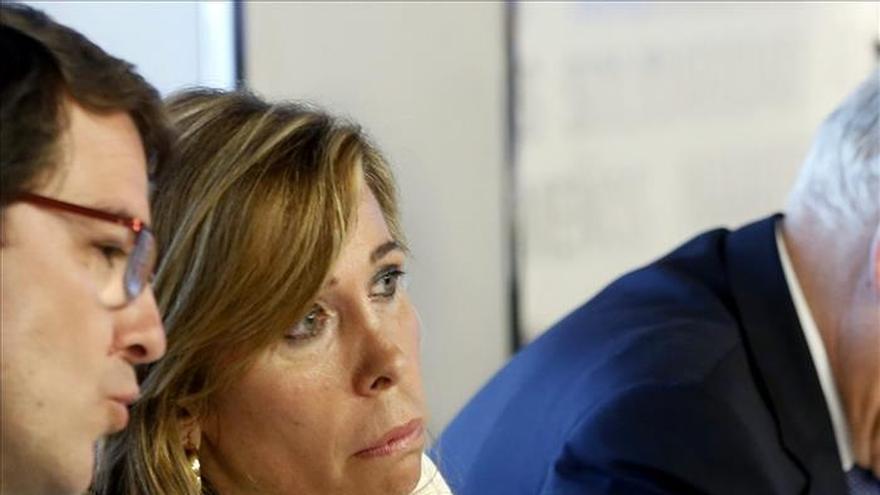 Sánchez Camacho rechaza pactos nacionales y pide a Mas que no convoque el 27S
