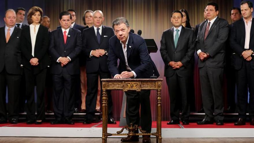 Santos afirma que el gran reto del proceso paz será hacer pedagogía efectiva
