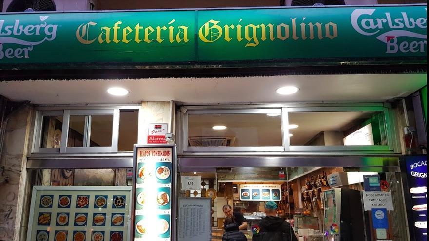 El aspecto del Grignolino, el segundo bar más antiguo de Madrid, que ha sido sustituido por Mi Croqueta