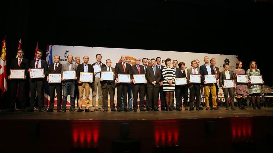 Emiliano García-Page con los Premiados 'Gran Selección' 2015