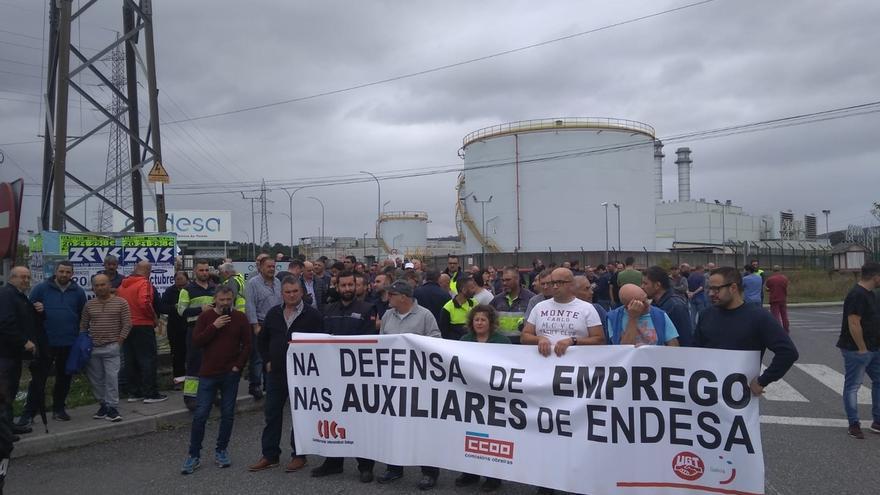 Empleados de As Pontes protestarán el 16 en Madrid ante el Ministerio de Transición Ecológica