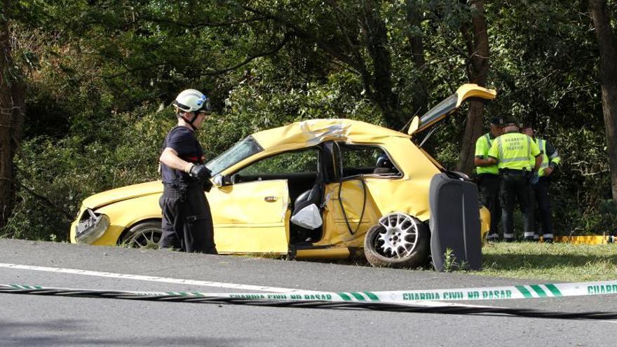 Fallecen tres personas en un accidente de tráfico en Valdoviño (A Coruña)