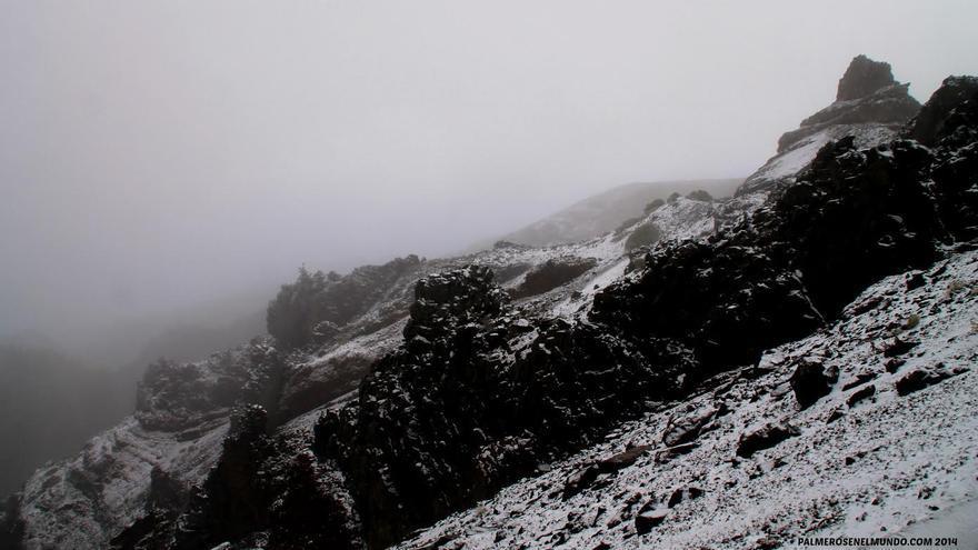 En la imagen, cumbres de El Roque de Los Muchachos, este jueves, 20 de noviembre de 2014. Foto: FERNANDO RODRÍGUEZ (palmerosenelmundo.com).