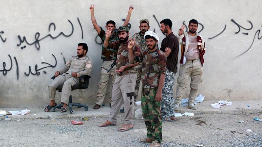 La milicia chií iraquí anuncia que podrían ir a Siria a luchar contra el EI