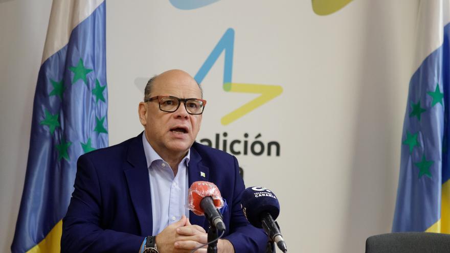 """Coalición Canaria considera que los Presupuestos Generales del Estado son """"perjudiciales"""" para Canarias y anuncia una enmienda a la totalidad"""