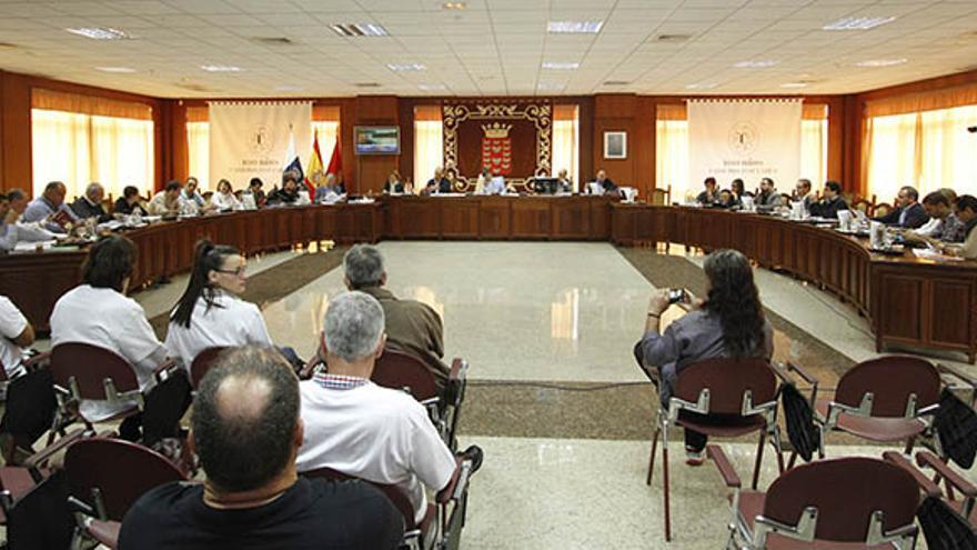 Pleno del Cabildo de Lanzarote