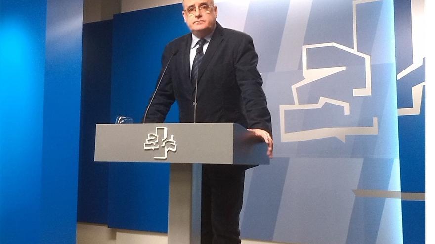 """Egibar cree que el PP posibilita los Presupuestos vascos para """"no enfadar a Urkullu"""" y lograr el apoyo del PNV a los PGE"""