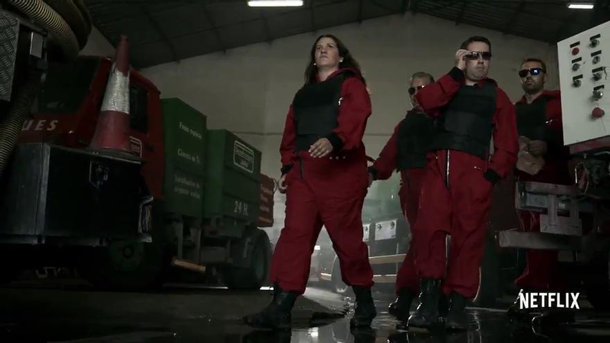 """Disparatado crossover entre 'La casa de papel' y Desatranques Jaén: """"Esto no es un atraco, es un desatranco"""""""
