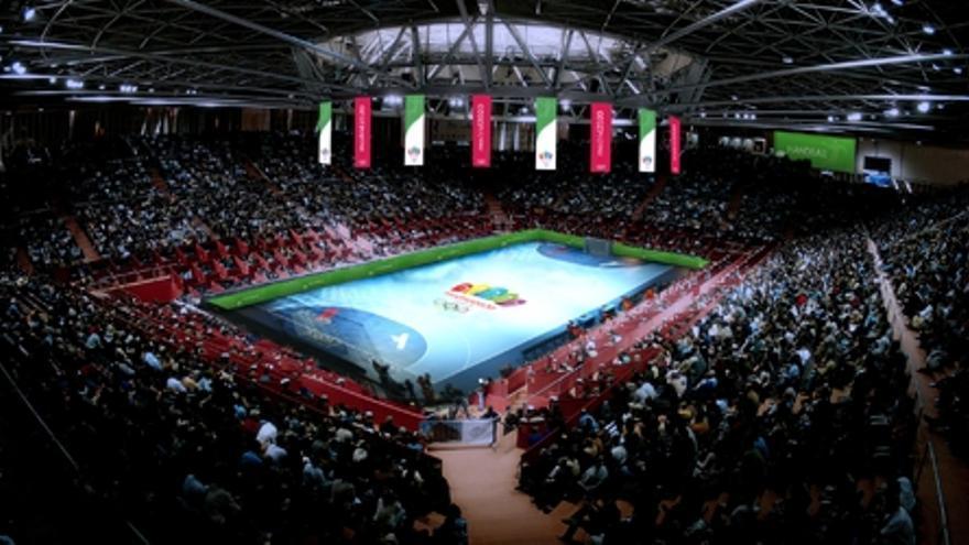 Recreación del Madrid Arena como sede olímpica.